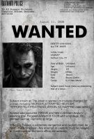 Wanted: The Joker by res1986