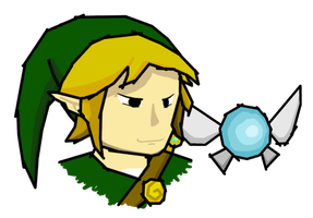 Adult toon Link by MilkMoustache