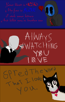Creepy Pasta Valentines by the-edude