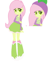 My new oc Forest Gem! ( EQG Style! ) by enderloxiscute
