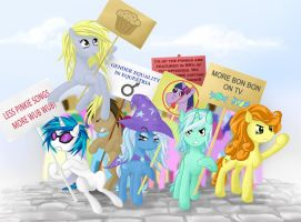 Background Protest by v-invidia