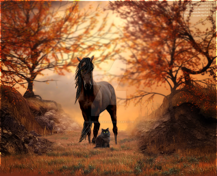 I came to bring Autumn by Gothika1988