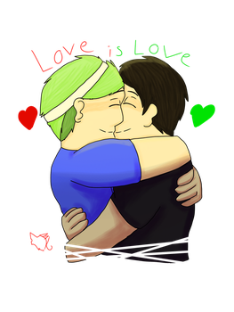 Love is love by Avatar-Wolf