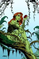 Poison Ivy: colored by britne-elizabeth
