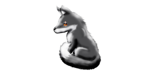Ashes The Fox Transparent Background by Yiya-styles
