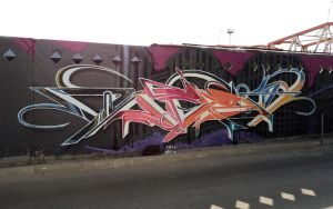 SR/DST. Graffiti by Wator
