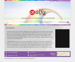 Alfanet Web Design 2 by HalitYesil