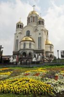 Church on the Spilled Blood, Yekaterinburg 1 by wildplaces