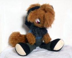 Commission: Nightstar jointed plush 2 by Naoru