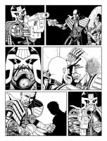 Judge Dredd - Cycle Of Violence Page 6 by allistermac