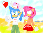 sonic and his family by wallacexteam