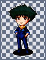 Fanart - Spike Spiegel chibi by Emoon18