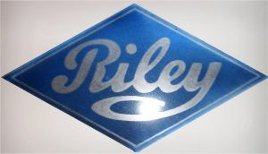 A Riley Logo Glass 6 Firings by edgarbeat