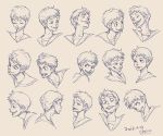 Expression Design of Donald by chacckco