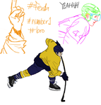 hockey shit by dreadilion
