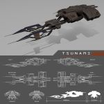 Tsunami by machinefire