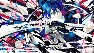 Wallpaper Noragami Yato Blade Out [Fullbrush] by Yumijii