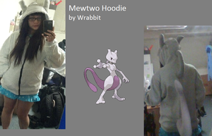 Mewtwo Hoodie by theamazingwrabbit