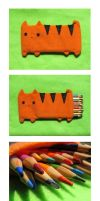 Cat Pencil Pouch 3 by uglykat