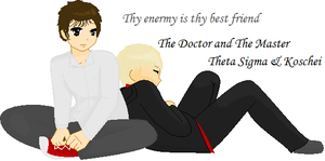 The Doctor and the Master by Anarth