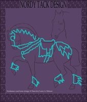 Nordanner Tack Design For My Stallions by OneMoreParisNight