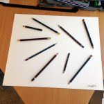 Real Pencil illusion drawing by AtomiccircuS