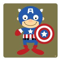 captain america by striffle