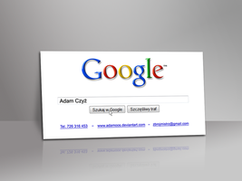 Google Business Card by Adamoos