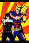 All Might and Aizawa by Sarumi-off