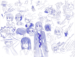 MORE ONE PIECE SKETCHNESS V.1 by fourswords