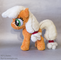 filly Applejack inspired plush by mmmgaleryjka
