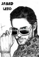 Jared Leto by LucyRedfield