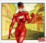Mija Bombetta - The Flash - Perfect Shemale by KaJu-MANIA