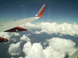 haha i'm in an airplane by scar66