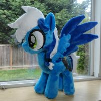 Flash Storm Plush by Cryptic-Enigma