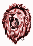 Liondrawing15fndbr3 by eddieblz
