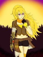 Yang Xiao Long The Golden Adventurer by LobbyRinth