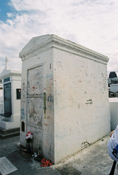 Voodoo Queen's Family Tomb I by frchblndy-stock