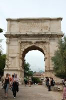 Rome - Arch of Titus 2 by Lauren-Lee
