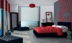 Design of bedroom by ivanaart