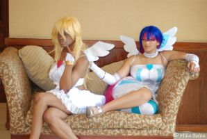 Panty and Stocking Cosplay by ohmygoditsawesome
