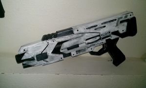 Mass Effect M-27 Shotgun by bobsideways