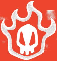 Bleach Skull Red by LionFear