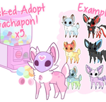Masked Adopt Gachapon x5 [TEMPORARILY CLOSED] by moxyo