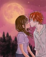 First Kiss by tomgirl227