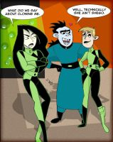 Kim Possible - A Shego Stoppable clone by kalahee