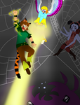 Fablesisters Undertale. spider dance by FableworldNA