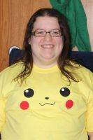 Pikachu T-Shirt (Front Side) by PikaYugi4Ever93