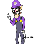 Waluigi is number one! by Jyxia