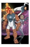 Fantastic Four: World's Greatest Heroes by khazen
